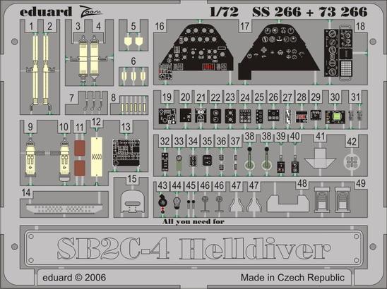 SB2C-4 1/72  - 1