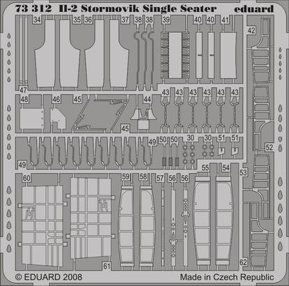 II-2 Stormovik Single Seater S.A. 1/72