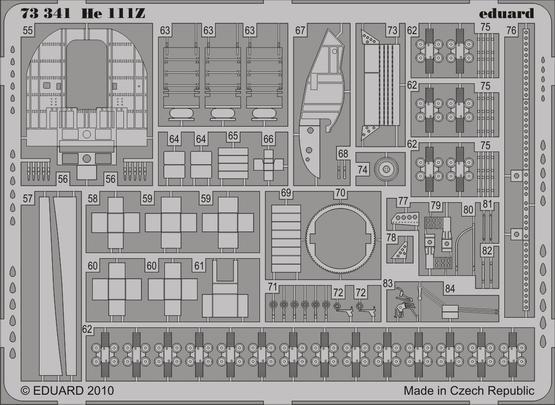 He 111Z interior S.A. 1/72