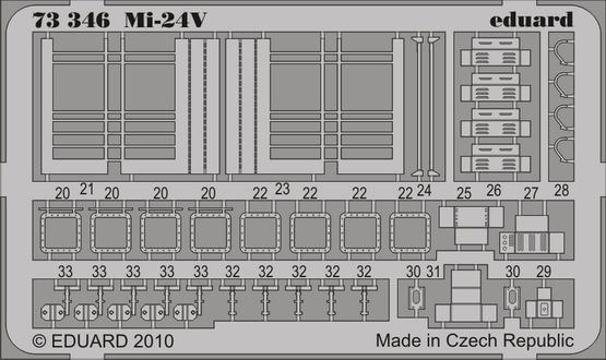 Mi-24V Hind S.A. 1/72