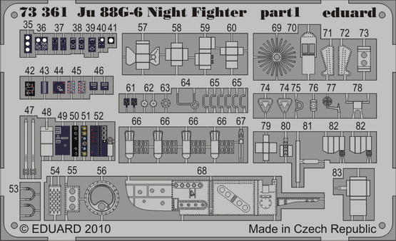 Ju 88G-6 Night Fighter S.A. 1/72  - 1