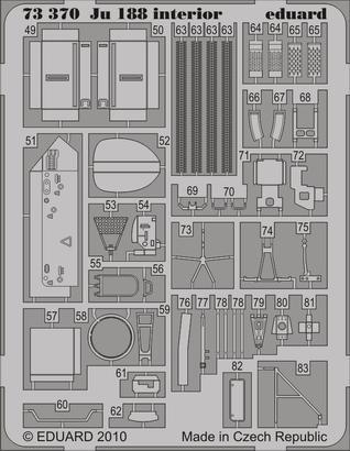 Ju 188 interior S.A. 1/72