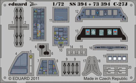 C-27J S.A. 1/72  - 1
