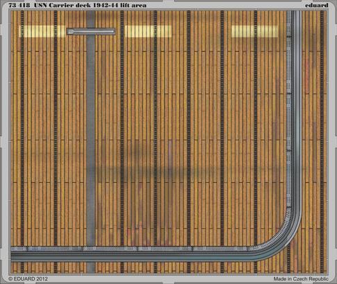 USN Carrier Deck 1942-44 lift area 1/72