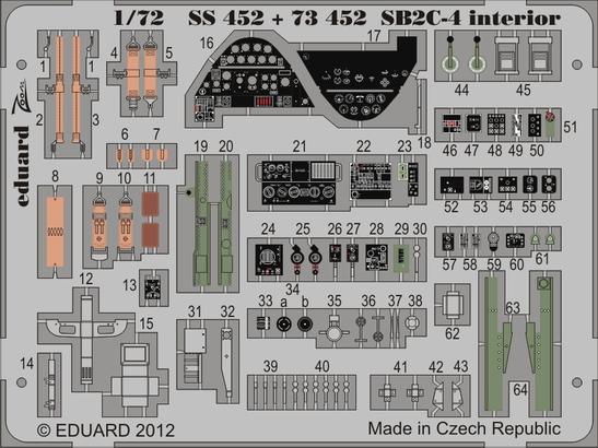 SB2C-4 S.A. 1/72  - 1