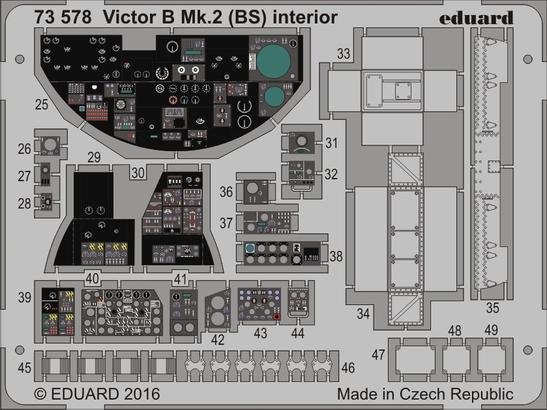 Victor B Mk.2 (BS) interior 1/72  - 1