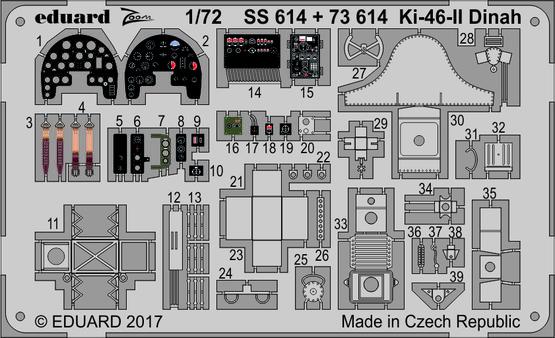 Ki-46-II Dinah 1/72  - 1