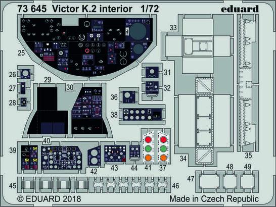 Victor K.2 interior 1/72  - 1