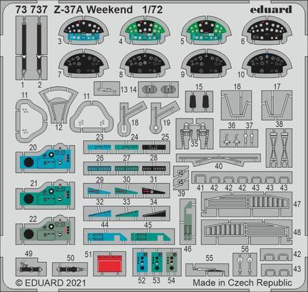 Z-37A Weekend 1/72