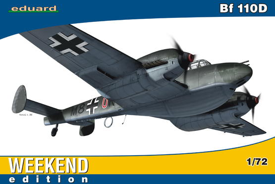 Bf 110D 1/72