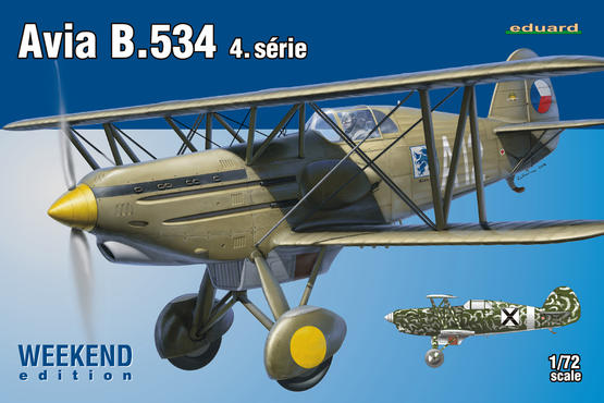 Avia B.534 IV. série 1/72