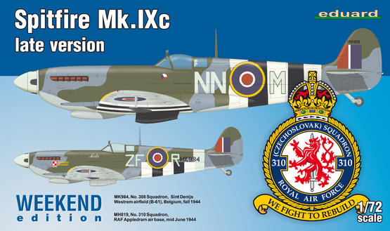 Spitfire Mk.IXc late version 1/72