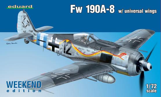 Fw 190A-8 s univerzálním křídlem 1/72