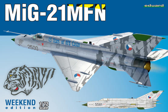 MiG-21MFN 1/72