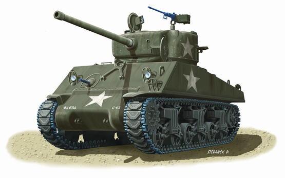 M-4A3 (76mm) W Sherman 1/72