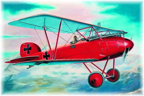 Albatros D.III early version 1/48