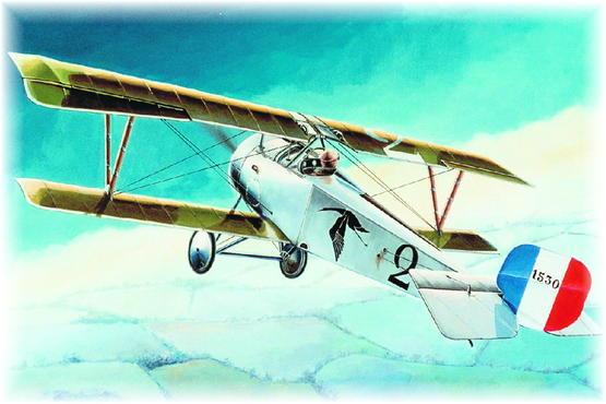 Nieuport Ni-17 Vieux Charles 1/48