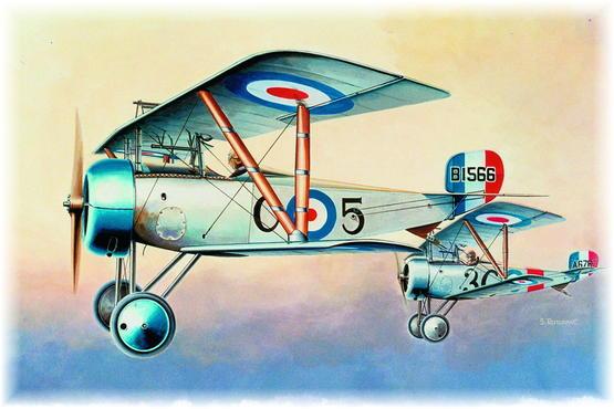 Nieuport Ni-17 R. F. C. 1/48