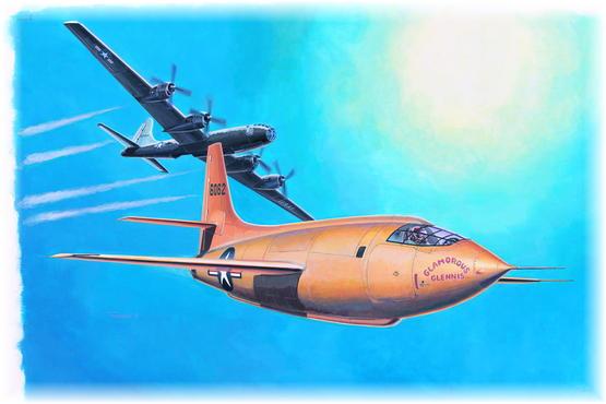 Bell X-1 1/48