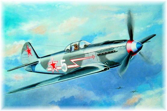 YAK-3 Normandie - Niemen 1/48
