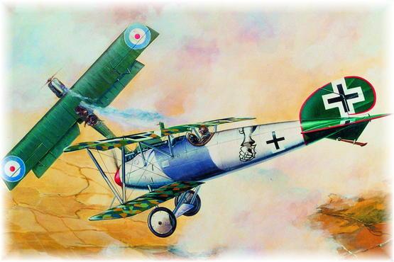 Albatros D.Va Mailed Gauntlet 1/48