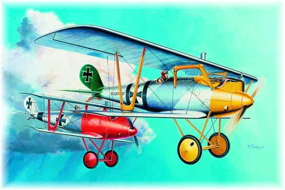 Pfalz D.III Verner Voss 1/48