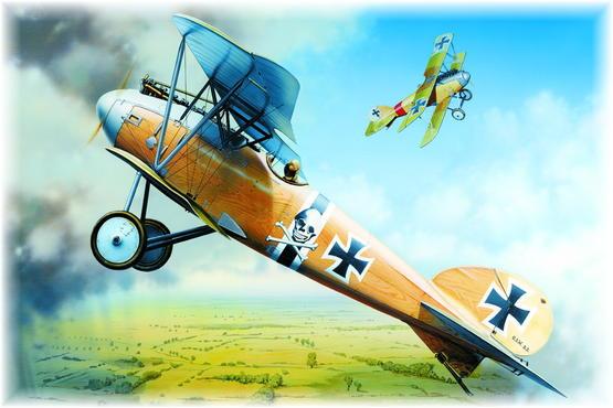 Albatros D.III O.A.W. 1/48