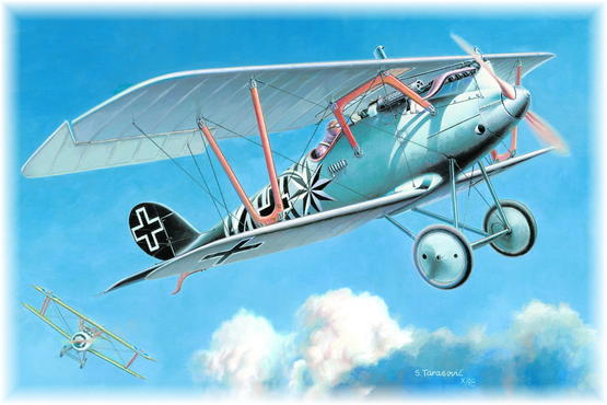 Pfalz D.IIIa late Version 1/48