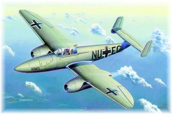 Heinkel He 280/Jumo 004 1/48