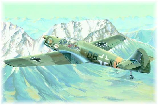 Messerschmitt Bf 108B Taifun PROFIPACK 1/48