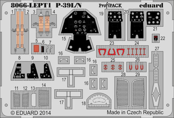 P-39L/N PE-set 1/48