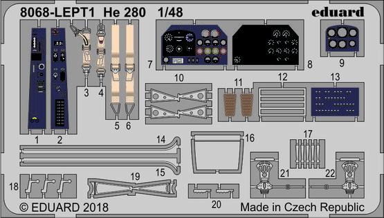He 280 LEPT 1/48