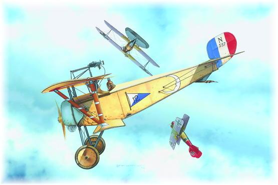 Nieuport Ni-11 PROFIPACK 1/48