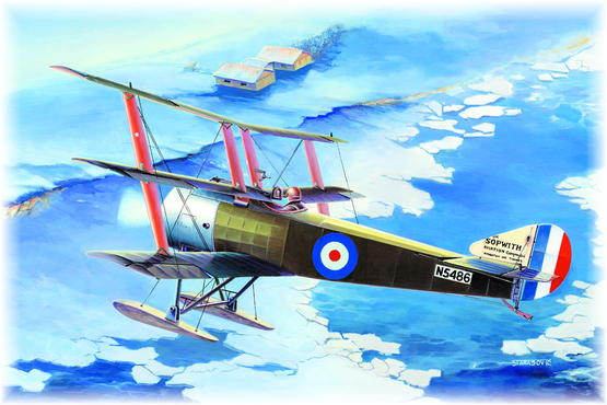 Sopwith Triplane with Skies 1/48