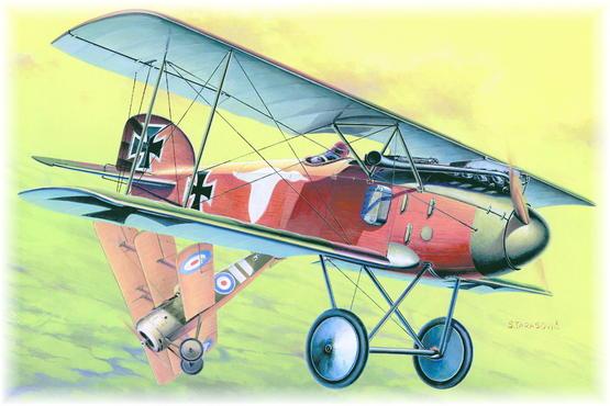 Albatros D.II (L.V.G) 1/48