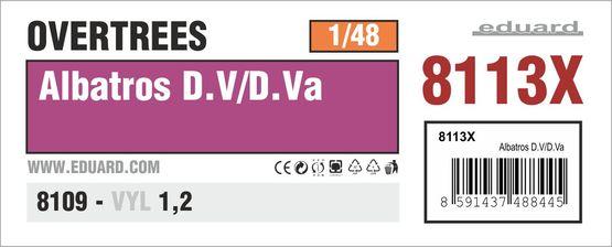 Albatros D.V/D.Va OVERTREES 1/48 1/48