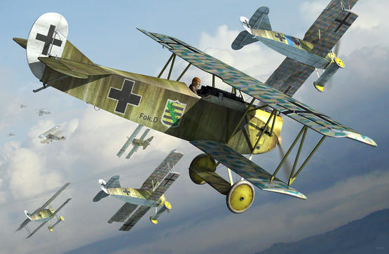 Fokker D.VII DUAL COMBO 1/48
