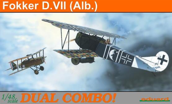 Fokker D.VII (Albatros) DUAL COMBO 1/48
