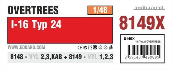 I-16 type 24 OVERTREES 1/48