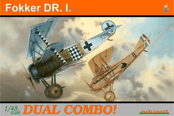 Fokker Dr.I  DUAL COMBO 1/48