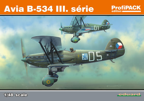 Avia B-534 III. série (Reedice) 1/48