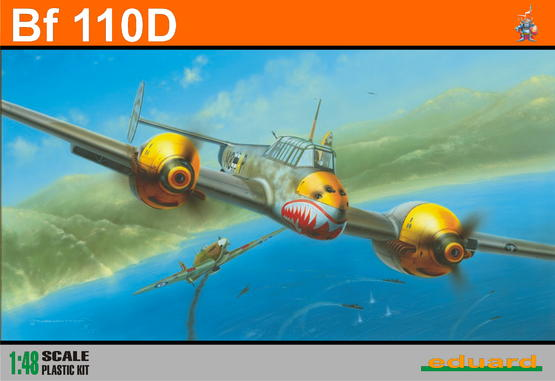 Bf 110D 1/48
