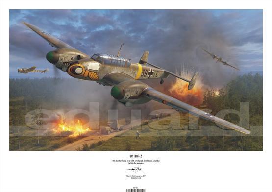 Plakát - Bf 110F-2