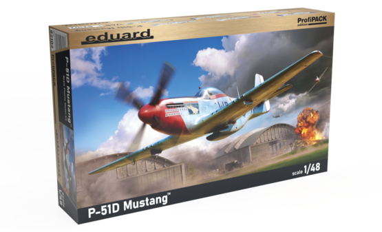 P-51D Mustang 1/48  - 1