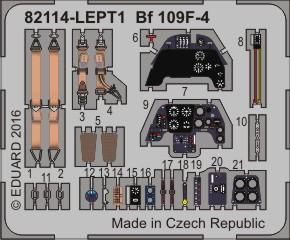 Bf 109F-4 PE-set 1/48  - 1