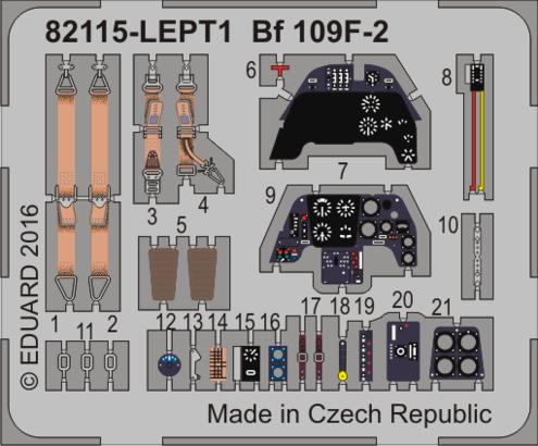 Bf 109F-2 LEPT 1/48