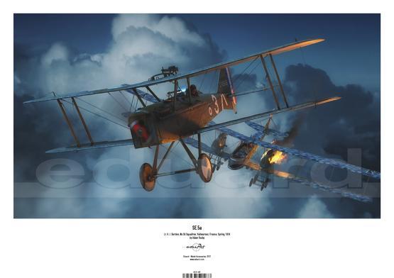 Plakát - SE.5a