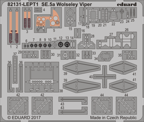 SE.5a Wolseley Viper - PE set 1/48