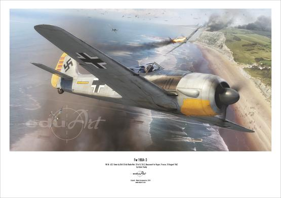 Poster - Fw 190A-3
