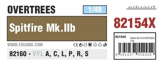 Spitfire Mk.IIb OVERTREES 1/48